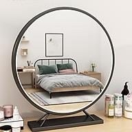 Gương trang điểm, gương để bàn hình tròn phong cách châu âu sang trọng thumbnail