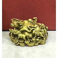 Decor trang trí để bàn - Trâu lên ngôi 12 con giáp (kt 7x12cm) thumbnail
