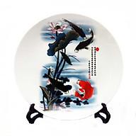 Dĩa trưng bày phong thủy Cá Chép Tài Lộc thumbnail