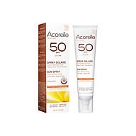 [AN TOÀN CHO MẸ BẦU] Sữa chống nắng Acorelle cho mặt và toàn thân SPF50 - 100ml thumbnail
