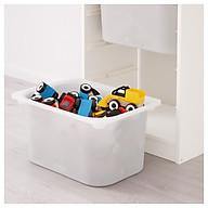 Hộc nhựa trắng to 42x30x23cm - hộc chứa đồ - hộc để đồ chơi thumbnail