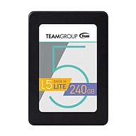 Ổ Cứng SSD 240GB L5 LITE 2.5 Team Group Sata III - Hàng Chính Hãng thumbnail
