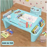 Bàn Học Nhựa Nhiều Ngăn Để Đồ Cho Bé Kèm Ghế Nhựa Mini Nhiều Màu Sắc Họa Tiết Đáng Yêu thumbnail