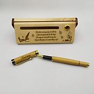 Bộ bút gỗ cao cấp tặng Thầy Cô 02 (Kèm hộp đựng sang trọng) thumbnail