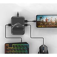 Bộ chuyển đổi game G-nex pro chơi PUBG Mobile , AoV , Mobile Legends , RoS, Knives Out, Free Fire - Hàng Chính Hãng thumbnail