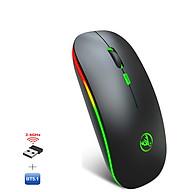 Chuột không dây Bluetooth, chuột không dây usb 2.4Hz HXSJ T18 - Hàng chính hãng thumbnail