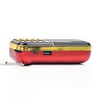 Radio mini nghe đài, nghe nhạc thẻ nhớ, USB, nghe kinh phật Craven-25A chính hãng thumbnail