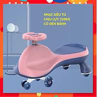 Xe lắc phát nhạc cho bé hàng chất lượng cao chịu lực 220kg thumbnail