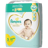 Tã bỉm dán Pamper Premium nội địa Nhật size S 82 miếng thumbnail