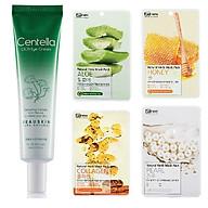 Kem dưỡng da xóa nếp nhăn mắt chiết xuất rau má thảo dược Beauskin Hàn quốc (30g) và 4 đắp mặt nạ benew thumbnail