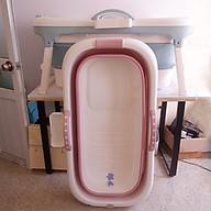 Bồn tắm gấp gọn cho cả gia đình- Bồn tắm silicon cao cấp -tiết kiệm không gian -hàng chính hãng thumbnail