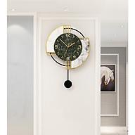 Đồng hồ treo tường trang trí nghệ thuật quả lắc Polyester tái chế và Acrylic thumbnail