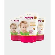 Combo 3 Túi bổ sung Nước rửa bình sữa & rau quả Mamamy 600ml túi thumbnail