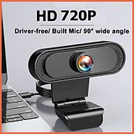 Webcam máy tính Mitsunal FullHD 1080P 720P QUAY CHỮ CỰC NÉT - Thu hình cho máy tính để bàn, Laptop, TV, Rõ nét, Chân thực, Tích hợp MIC thu âm chống ồn, live stream, Streamer, quay video, ghi âm,Vlog, Chơi game, trò chuyện qua Zoom - Hàng chính hãng thumbnail