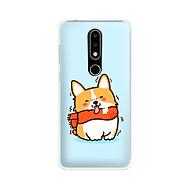Ốp lưng dẻo cho điện thoại Nokia 6.1 plus X6 - 01171 7869 DOG01 - Hàng Chính Hãng thumbnail