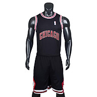 Bộ quần áo bóng rổ Chicago - Đen thumbnail