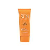 Kem chống nắng dưỡng trắng da BEBECO Hàn Quốc INOREAF NATURAL SUN SCREEN SPF50+ PA+++ thumbnail