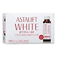 Collagen dạng nước dưỡng trắng chống nắng Astalift Drink Whiteshield(10 lọ x 50ml) thumbnail