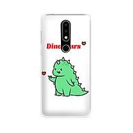 Ốp lưng dẻo cho điện thoại Nokia 6.1 plus X6 - 01171 7877 DINOSAURS04 - Khủng long dễ thương - Hàng Chính Hãng thumbnail