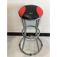 Ghế quầy bar inox VIMOS chân vòng tròn, cao 75cm thumbnail