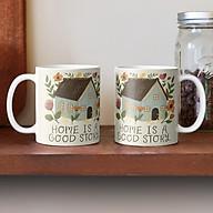 Cốc sứ hình ngôi nhà Home is a Good Story thumbnail