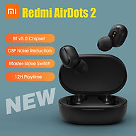 Xiaomi Redmi AirDots 2 TWS Earphones BT v5.0 Fast Auto Pairing DSP Noise Reduction 12H Playtime Sport Earbuds With Mics thumbnail