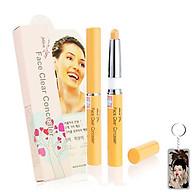 Bút Che Khuyết Điểm Mira Face Clear Concealer Hàn Quốc 1.5g No.21 light Beige tặng kèm móc khóa thumbnail