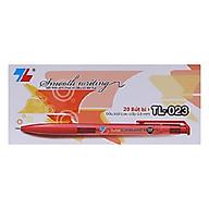 Hộp 20 bút bi 0.8 TL-023 đỏ thumbnail