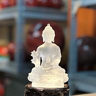Tượng Phật Dược Sư Lưu Ly Nhiều Màu 12cm (Giao màu ngẫu nhiên) thumbnail
