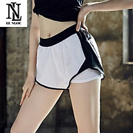 Quần Thun Nữ, Tập Gym,Yoga, Earobic 2 lớp thời trang LN339 thumbnail