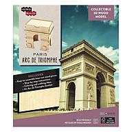 IncrediBuilds Paris Arc de Triomphe 3D Wood Model thumbnail