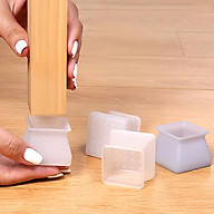 Miếng silicon bọc chân bàn ghế RIBO HOUSE chống trượt chống gây tiếng ồn kích thước size L màu ngẫu nhiên RIBO111 thumbnail