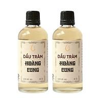 Bộ 2 chai tinh dầu tràm Huế - dầu tràm Hoàng Cung 100ml thumbnail