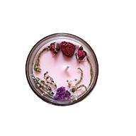 Nến thơm tinh dầu Hoa Anh Đào 100g, làm thơm phòng, khử mùi, thư giãn giảm stress Essential Oil Candle thumbnail