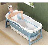 Bồn tắm người lớn - Bể bơi cho bé - Chất liệu nhựa PP và Silicon,tiện dụng cho việc gấp gọn thumbnail