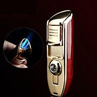 Hộp Quẹt Bật Lửa Khò 3 Tia ZB-528 Lửa Cực Mạnh, Có Lỗ Đục Xì Gà thumbnail