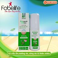 Chai xịt cấp ẩm & sáng da từ thiên nhiên Acnevir Santafa- Chai 100ml thumbnail