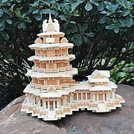 Đồ chơi lắp ráp gỗ 3D Mô hình tháp Yuejiang Tower thumbnail