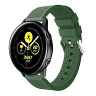 Dây Cao Su Colour 3 Size 20mm cho Galaxy Watch Active 1, Galaxy Watch Active 2, Galaxy Watch 42, Huawei Watch 2, Ticwatch, Amazfit, Garmin thumbnail
