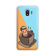 Ốp lưng dẻo cho điện thoại Samsung Galaxy J2 pro 2018 - 01041 7896 RELAX02 - in hình chibi dễ thương - Hàng Chính Hãng thumbnail