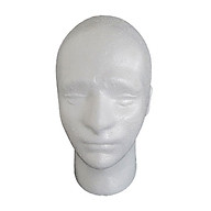 Manikin Head Model Head Male Foam Stand thumbnail