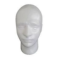 Manikin Head Model Head Male Foam Stand thumbnail