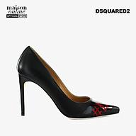 DSQUARED2 - Giày cao gót mũi nhọn Black Red Logo Pump PPW0029-M002 thumbnail