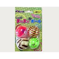 Đồ chơi set bóng vờn lúc lắc Doggyman Nhật Bản cho mèo thumbnail