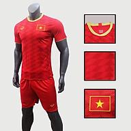 Bộ quần áo đá bóng quấn áo thể thao nam đội tuyển Việt Nam màu đỏ thumbnail