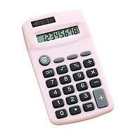 Mini Cute Calculator 8 Digits Display Solar & Battery Dual Power Portable Electronics Calculator Accounting Tool for thumbnail