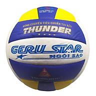 Bóng chuyền dán Gerustar Số 5 - Thunder 4 sao (Tặng Băng dán thể thao + Kim bơm + Lưới đựng) thumbnail