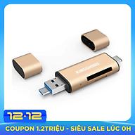 Đầu đọc thẻ nhớ SD Reader Type C USB 3.0 Micro USB Kingshare - Màu ngẫu nhiên - Hàng Nhập Khẩu thumbnail