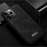 Ốp Lưng Da SULADA Viền silicon cho iPhone 11 Pro Max - Hàng Chính Hãng thumbnail