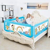 Thanh chắn giường cho bé an toàn cao cấp trượt lên trượt xuống nút bấm hiện đại cao khoá an toàn 82 cm Aachmann giá bán 1 thanh thumbnail